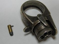 Just stumble on those really cool Antique Ring Guns -You can see all sort of miniature gun on Littlegun.be