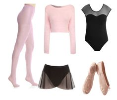 """""""Ballet Practice"""" by aclassymay on Polyvore"""