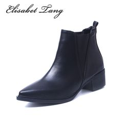 # For Sales Elisabet Tang Low Heel Fashion Chelsea Sexy Pointed Toe Ankle Boots Slip-on Shoes Women Soft Leather Big Size Lady Shoes  [udypZ9J6] Black Friday Elisabet Tang Low Heel Fashion Chelsea Sexy Pointed Toe Ankle Boots Slip-on Shoes Women Soft Leather Big Size Lady Shoes  [GJBCMgN] Cyber Monday [kZocFn]