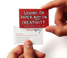 20 Creative Business Cards