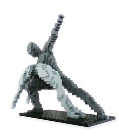 LEGO Sculpture - Swan Lake 3 http://www.flickr.com/photos/142069125@N05/28122819005/