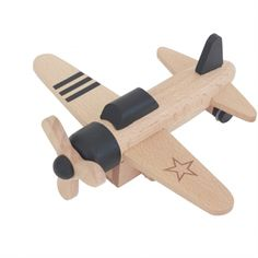Up, up and away with the Hikoki Propeller Plane from Kiko & GG. These gorgeous Japanese wooden toys have a pull back and go motor to ensure they're always ready to take to the skies. Available in black and white. Propeller Plane, Wooden Airplane, Plan Toys, Wooden Baby Toys, Eco Friendly Toys, Creative Play, Imaginative Play, Classic Toys, Toy Boxes