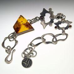 BRANSOLETA Z BURSZTYNEM / 7malin / Biżuteria / Bransolety