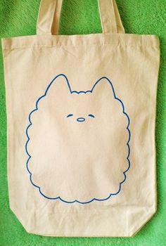 ■モコ太郎のオリジナルエコバッグ・トートバッグです。 青色でモコ太郎のイラストを描きました。 ■布用の絵具を使用しているのでお洗濯できます。■バッグのサイズは...|ハンドメイド、手作り、手仕事品の通販・販売・購入ならCreema。