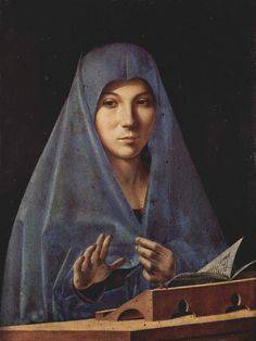 Virgin Annunciate, Antonello da Messina