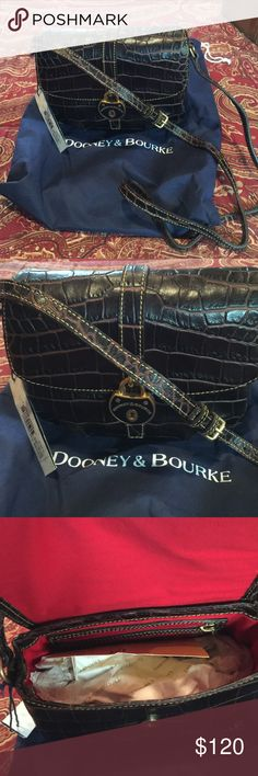 NWT Dooney&Bourke Flap Purse Cross-Body! Brand new unused with tags. Dust bag and warranty card included .Smoke free home! Dooney & Bourke Bags Shoulder Bags