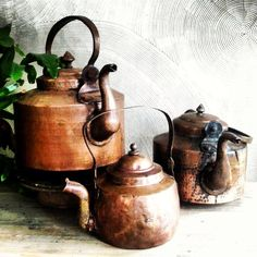 I want to decorate guest tables with things that Karl and I will one day use to decorate our house. I love tea/tea pots. :)