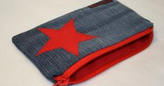 Pouch, Wallet, Sewing Hacks, Sewing Tips, Jeans, Coin Purse, Purses, Knitting, Appliques