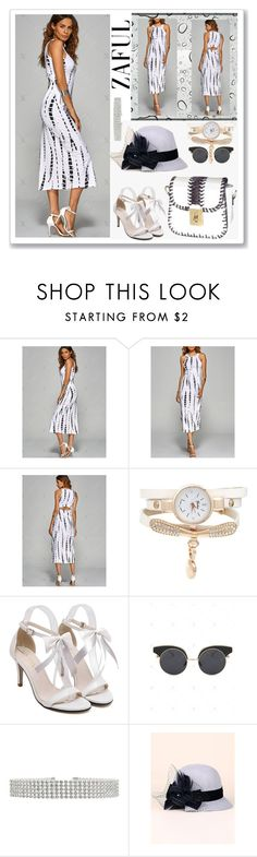 """""""Bodycon Dress-zaful.com"""" by ane-twist ❤ liked on Polyvore featuring zaful"""