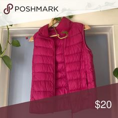 Uniqlo pink puffer vest Uniqlo pink puffer vest Uniqlo Jackets & Coats Puffers