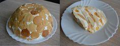 Nepečený dortík ze zakysané smetany a ovoce
