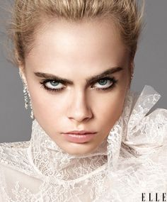 Cara Delevingne shines on the September 2016 cover of ELLE Magazine. Hitting newsstands on August 16th