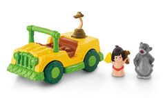 Amazon.com: Little People Disney The Jungle Book Tiki Truck: Toys & Games