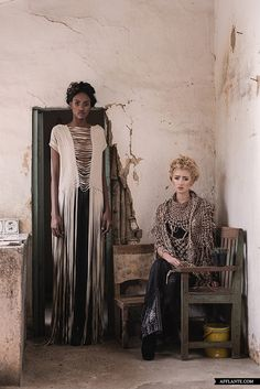 Magical stories we were told as kids, folktales and legends, combined with the wild nature, inspired Andrea Landa to create a mystical feeling whilst using Get Dressed, Persona, Growing Up, Gypsy, Style Inspiration, Fashion Outfits, Boho, Weave, Aesthetics