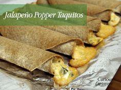 Jalapeño Popper Taquitos #SundaySupper » Curious Cuisiniere