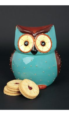 Owl Cookie Jar | HOME SWEET HOME £20