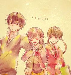 Haru, Asako, and Shizuku - Tonari no Kaibutsu-kun - My Little Monster