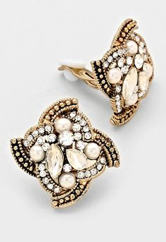 Visit: hipandcoolcliponearringstwo.com and receive up to 70% off. GOLD, PEARL, CLEAR STONE, CLIP ON EARRINGS  $10.39 http://hipandcoolcliponearringstwo.com