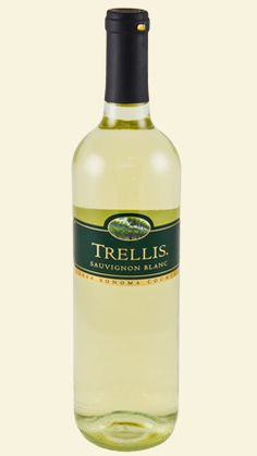 Trellis Sauvignon Blanc -- this was really impressive for a $6 bottle of wine, I enjoyed it greatly upon opening, but it didn't keep very well overnight. Very worth $6 but best to be consumed all at once. :) With a friend. :)