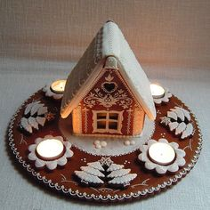 1 million+ Stunning Free Images to Use Anywhere Gingerbread Christmas Decor, Gingerbread House Designs, Gingerbread Decorations, Christmas Treats, Gingerbread Cookies, Christmas Cookies, Christmas Decorations, Gingerbread Houses, Homemade Christmas