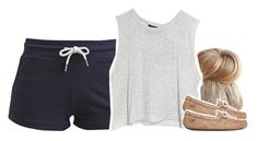 """"""""""" by chyna-campbell ❤ liked on Polyvore featuring TWINTIP, MINKPINK and UGG Australia"""