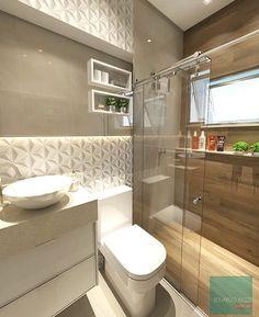 Hello people! Banheiro charmoso e moderno por Eduardo Muzzi de inspiração.