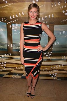 Brittany Snow Getty Ted Baker
