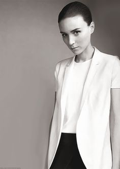Actress Rooney Mara has recently taken my interest with her one-of-a-kind acting. She brings dark, raw talent to all her films, which include Her, Side Effects, The Girl with the Dragon Tattoo, Pan, and the Social Network.(she's also a vegan just sayin)