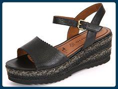 Tamaris 1-1-28370-28/001 Größe 41 Schwarz (schwarz) - Sandalen für frauen (*Partner-Link)
