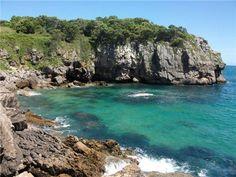 Acantilados junto al #camping Playa de #Isla #Cantabria  #Spain