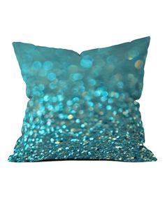 Lisa Argyropoulos Aquios Fleece Throw Pillow by DENY Designs #zulily #zulilyfinds