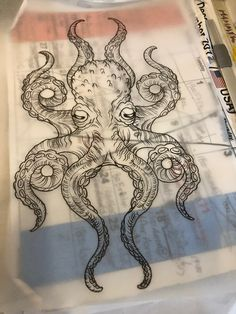 Octopus Tattoo Drawing, Related posts:Lunch Lady Brownies are moist, full of chocolate flavor and absolutely delicious. Octopus Tattoo Sleeve, Kraken Tattoo, Squid Tattoo, Octopus Tattoo Design, Octopus Tattoos, Lion Tattoo, Sleeve Tattoos, Tattoo Designs, Tattoo Sketches