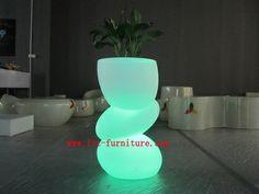 LED Outdoor Furniture/ Plastic Garden Pots/ LED Flower Pot (GR PL51) Part 92