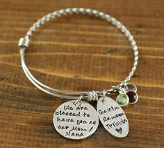 119075f5164 We Are Blessed To Have You Bangle Bracelet Alex And Ani Bracelets