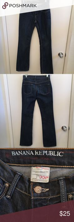 Modern Bootcut Banana Republic Jeans Perfect, worn MAYBE twice, if that. These jeans would be a steal ! Banana Republic Jeans Boot Cut
