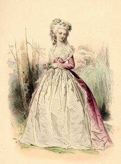 Tea at Trianon: An Engraving of Madame de Lamballe
