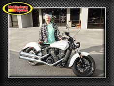 Thanks to Tracey Caveny from Hattiesburg MS for getting a 2016 Indian Scout Sixty @HattiesburgCycles