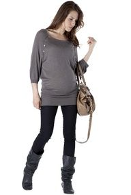 Maternity Clothing Directory | Showing Pregnancy Fashion--this looks comfy.