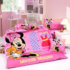 Minnie Mouse Pink Style4 Disney Bedding Sets