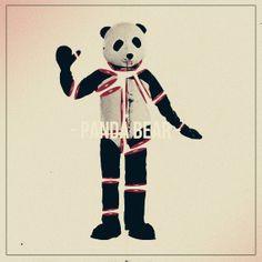 Panda Bear by Alex Lorenzo, via Behance