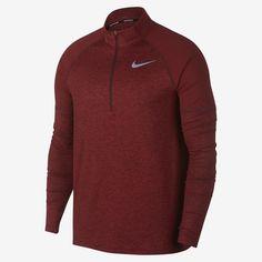 Nike Men's 1/2-Zip Running Top. Nike GB Running Leggings, Running Jacket, Running Shoes Nike, Running Clothing, Mens Running Tops, Mens Gym Bag, Mens Essentials, Nike Tops, Leotards