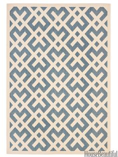 Stylish & washable (!) kitchen rugs from our partners at House Beautiful.