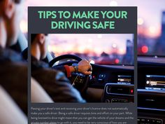 Ensuring Your Safe #Driving Spree.#Car #carsforsale #usedcars #deals #Automotive #Auto #News #number