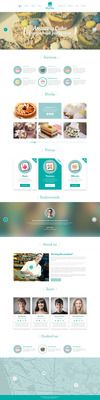 Buy Wind Cake – One Page PSD Template by Wjnd on ThemeForest. Description Wind Cake is a one page PSD Template, perfect for your choice. The template is very sweet, cute and uniqu. Bakery Logo, First Page, Web Design Inspiration, Psd Templates, Amazing Cakes, Really Cool Stuff, Lighting, Nice, Lights