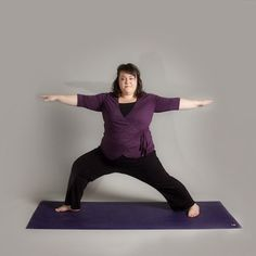 Blog Post: yes she is a fat yoga teacher. So think about what you can learn