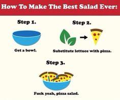 Who really likes salad anyways?