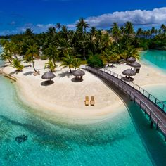 Bora Bora! This is the Intercontinental Hotel and Thalasso Spa