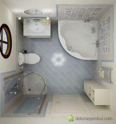 küçük banyo