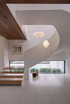 Modern mansion interior design Image