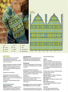 The Knitter 116 2017 Knitted Mittens Pattern, Knit Mittens, Mitten Gloves, Knitting Socks, Knitting Patterns Free, Free Knitting, Knitted Hats, Knit Or Crochet, Filet Crochet